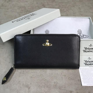 Vivienne Westwood - ◆新品未使用◆Vivienne Westwoodレディース 長財布◆Black