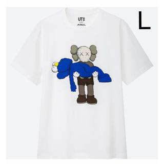 UNIQLO - 【UNIQLO ✕ KAWS ユニクロ カウズ】Tシャツ L