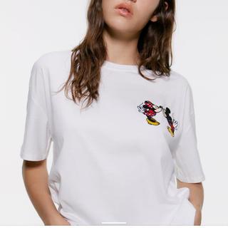 ZARA - Tシャツ ミッキー&ミニー