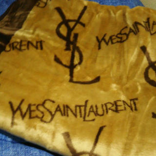サンローラン(Saint Laurent)のイヴ・サンローラン 毛布(毛布)