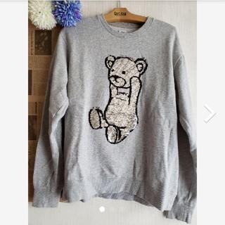 グラニフ(Design Tshirts Store graniph)のGraniph スパンコールスウェット(スウェット)