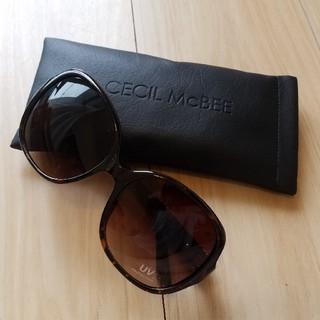 セシルマクビー(CECIL McBEE)の【新品未使用】セシルマクビー☆サングラス(サングラス/メガネ)