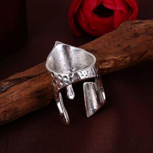 プレートアーマーリング 西洋鎧兜 メンズリング メンズのアクセサリー(リング(指輪))の商品写真