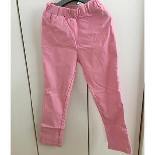 しまむら - レギンス パンツ 未使用 120 ピンク 女の子