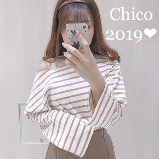 who's who Chico - 2019新品タグ付き❤︎ボーダーチュニック