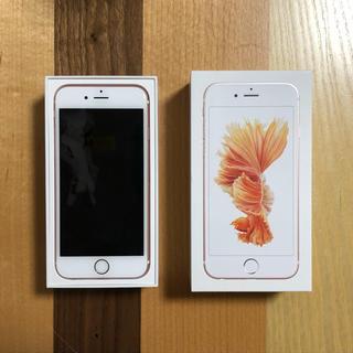 Apple - iPhone6s 16GB ローズゴールド SIMフリー
