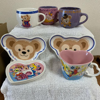 Disney - ディズニー ダッフィー アリス 食器セット