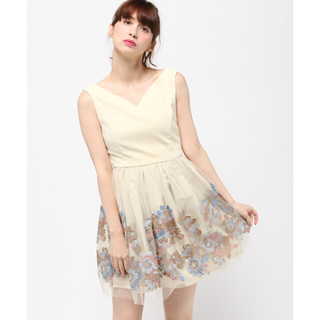 リリーブラウン(Lily Brown)のリリーブラウン  ドレス(ミディアムドレス)