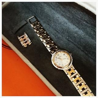 Hermes - エルメス時計  極美品  クリッパー  ・  レディース