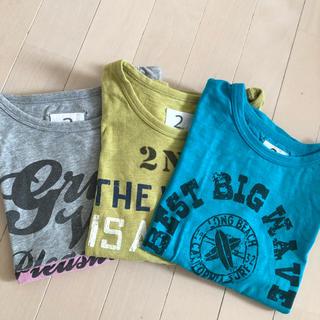 jeans-b - ジーンズベー Tシャツ3枚セット130