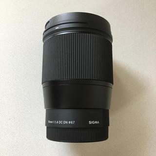 SIGMA - sigma 16mm f1.4 sony eマウント