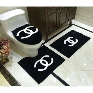 CHANEL - 新しい! 未使用の家庭用バスルームマットセット