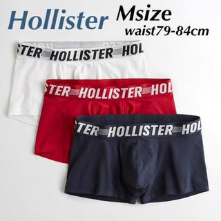 ホリスター(Hollister)の新品★ ホリスター HOLLISTER ボクサーパンツ 3枚セット Mサイズ(ボクサーパンツ)