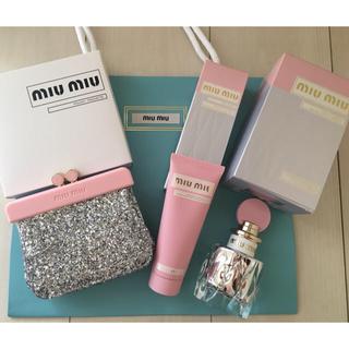 miumiu -  miu miu 香水 ハンドクリーム ポーチセット