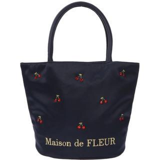 Maison de FLEUR - メゾンドフルール♡チェリートートバッグ