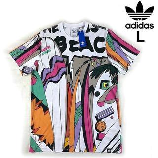 adidas - 売切!adidas CE2272 半袖Tシャツ (L)マルチカラー 181103