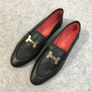 Hermes - 完売品 Hermes エルメス 靴/シューズ ローファー/革靴 パンプス