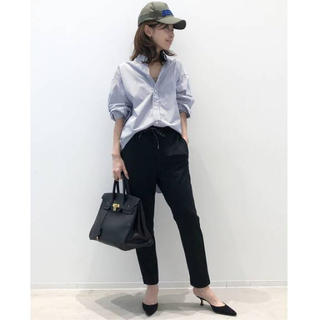 L'Appartement DEUXIEME CLASSE - L'Appartement☆AMERICANA Jersey パンツ/黒/34