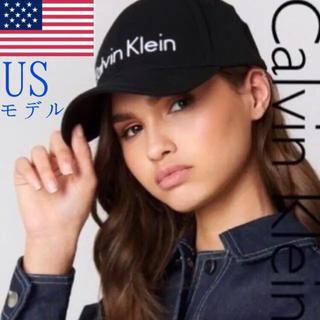 カルバンクライン(Calvin Klein)のレア【新品】Calvin Klein USA キャップ 帽子 黒(キャップ)