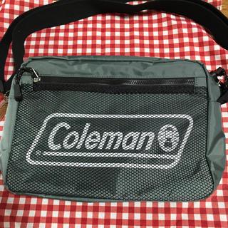 コールマン(Coleman)のコールマン ムック本 ショルダーバッグ モスグリーン(ファッション)