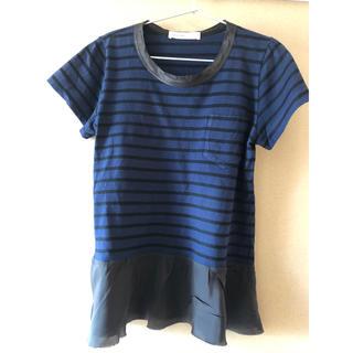 サカイラック(sacai luck)のサカイラック sakai luck ボーダー Tシャツ(Tシャツ(半袖/袖なし))