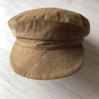 ビューティアンドユースユナイテッドアローズ(BEAUTY&YOUTH UNITED ARROWS)のベージュ/キャスケット帽子(キャスケット)