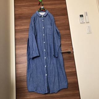 MUJI (無印良品) - ♡コットンシャツワンピース♡