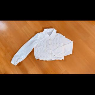 リズリサ(LIZ LISA)のリズリサ 白 ホワイト トップス ブラウス(シャツ/ブラウス(長袖/七分))