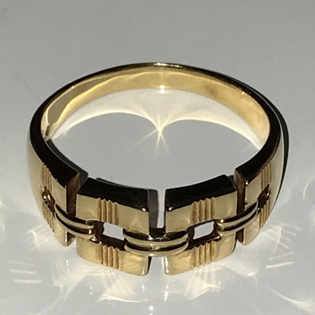 ★K18 リング 指輪★ メンズのアクセサリー(リング(指輪))の商品写真