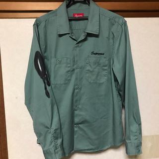 Supreme - [M] Supreme Rose L/S Work Shirt