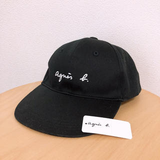 agnes b. - GL11 E CASQUETTE キッズ ロゴキャップ