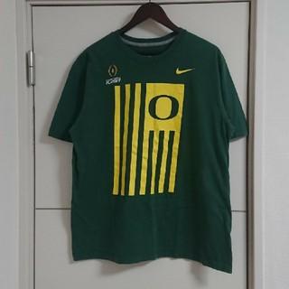 NIKE - NIKE ナイキ Tシャツ カレッジフットボール オレゴン 海外古着