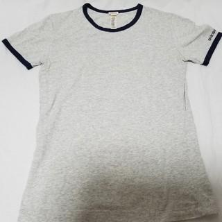 DIESEL - 【ほぼ未使用】DIESEL(ディーゼル)無地ストレッチTシャツ グレーM