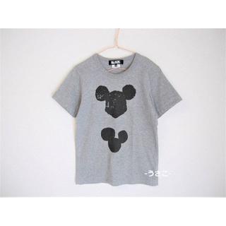 コムデギャルソン(COMME des GARCONS)のBLACK COMME des GARCONS ミッキー Tシャツ ギャルソン(Tシャツ(半袖/袖なし))