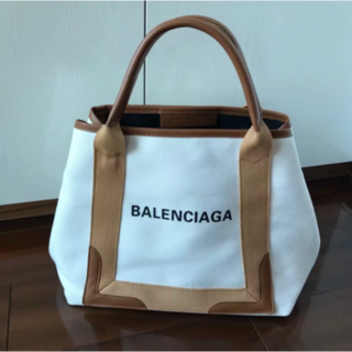 BALENCIAGA BAG - バレンシアガ BALENCIAGA トートバッグ コーティングキャンバス