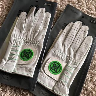 パーリーゲイツ(PEARLY GATES)の高島屋購入ジーフォア 高級レザーゴルフグローブ 両手(その他)