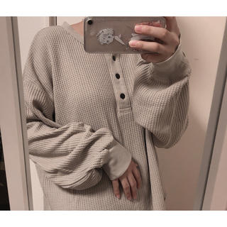 RETRO GIRL - レトロガール  ワッフルTシャツ