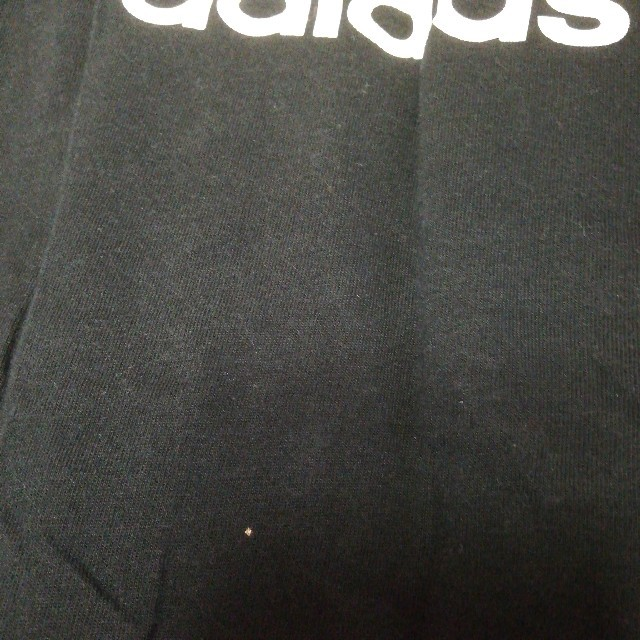 adidas(アディダス)のadidas 長袖シャツ 黒×白 レディースのトップス(Tシャツ(長袖/七分))の商品写真