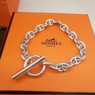 Hermes - エルメス シェーヌダンクル ブレスレット20cm