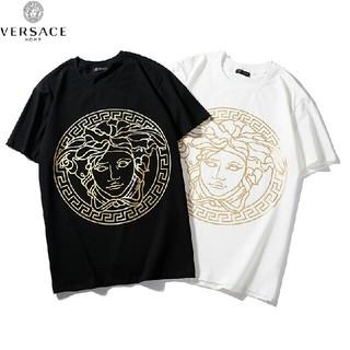 ヴェルサーチ(VERSACE)のVERSACE 2枚セット Tシャツ 半袖 綿(Tシャツ/カットソー(半袖/袖なし))