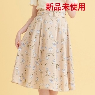 MAJESTIC LEGON - リングベルト付き花柄スカート★