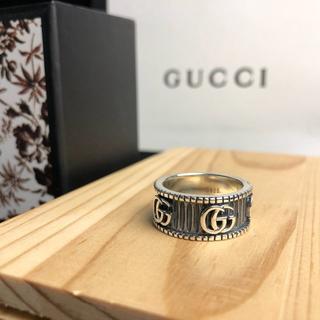 グッチ(Gucci)の鑑定済み 正規品 GUCCI グッチ シルバー リング 送料込み(リング(指輪))