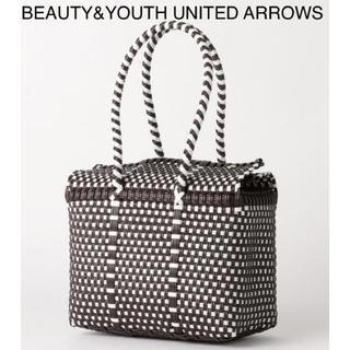 ビューティアンドユースユナイテッドアローズ(BEAUTY&YOUTH UNITED ARROWS)の新品 ビューティーアンドユース メルカドバッグ ハンドバッグ(かごバッグ/ストローバッグ)