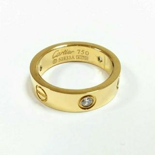 Cartier - 【入荷致しました】ビス リング トラベルジュエリー イエローゴールドカラー