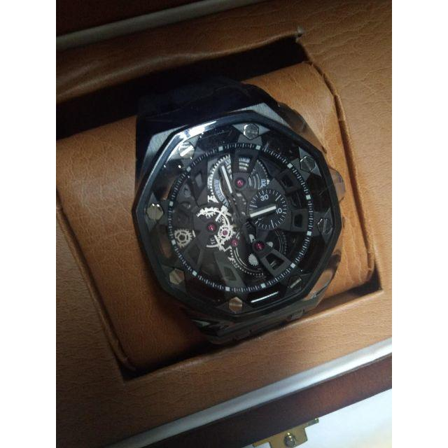 new style b76dc 7ef54 ラバーベルト オーデマピゲ 腕時計 メンズ 箱付き 人気