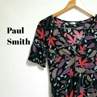 ポールスミス(Paul Smith)のカシュクール☆ 上質 ポールスミス 花柄シャツ レディース(シャツ/ブラウス(半袖/袖なし))