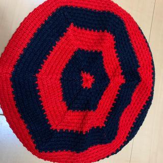 アニエスベー(agnes b.)のagnes b. ニットベレー帽(ハンチング/ベレー帽)