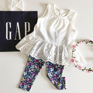 babyGAP - 新品♡今季♡baby gap♡ロンパース 刺繍/ユニクロ  ラルフローレン 他
