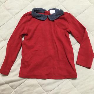babyGAP - Baby gap ベビーギャップ トップス 長袖 襟付き 60 70 80 赤