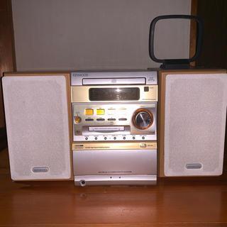 ケンウッド(KENWOOD)のKENWOOD MD コンポ SJ-3MD CD ケンウッド(スピーカー)